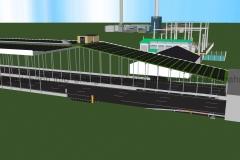Schema: Anbindung HGÜ an Power-to-Gas