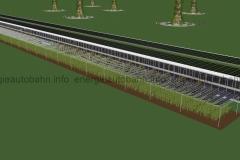 Schema: Moderne AGRO-Fläche (Vorbild: Fraunhofer ISE)